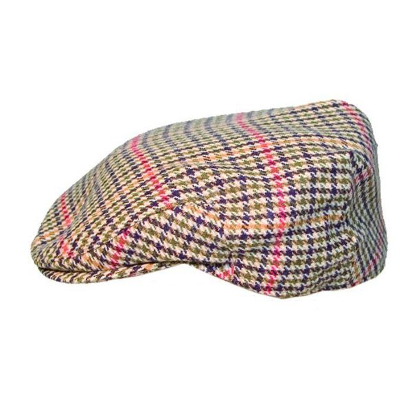 Mixed fibre English made flat cap available upto 4XL